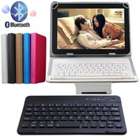 Wholesale Lenovo Wireless Keyboard - Wholesale-High Quality Leather Bluetooth 3.0 Wireless Keyboard Case Cover For Lenovo Tab2 X30 X30F Tab 2 A10-30 10.1 Tablet Stand Cover