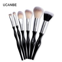 Wholesale beginner makeup sets for sale - Group buy Ucanbe Brand Beginner Soft Makeup Brushes Tool Synthetic Hair Foundation Powder Blush Eye Shadow Eyebrow Brushes Set Kit