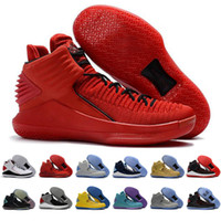 Wholesale Cracks Shoes - 2017 New Arrival Retro 32 Flights Speed Men's Basketball Shoes for High quality Airs XXXII 32s Hornets Black Crack Sports Sneakers Size 7-12
