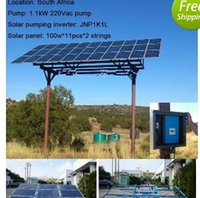 Wholesale Solar System For Hot Water - 2017 year very hot sale ,High Quality Solar Water Pumping System with 3 years warranty time for inverter