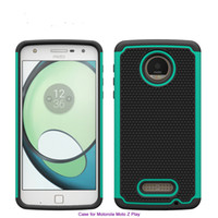 Wholesale Waterproof E4 - 3 In 1 Football Pattern Phone Case For Motorola Moto E4 G5 plus Coolpad Defiant 3632 Robot Waterproof PC+Silicone+TPU back Cover Shell