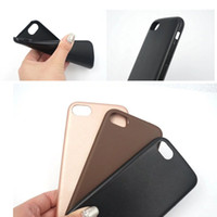 Wholesale Lambskin Leather Wholesale - For iPhone 7 Plus Lambskin Ultra Thin Case Soft PU Leather Back Cover For iPhone 6s 6 Plus OPPO R9S Plus Opp Bag