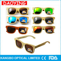 Wholesale Sunglasses Oem - 10pcs wholesale Wood Sunglasses high Quality grade fashion 100% Real Bamboo Wood Sunglases cheap price for specal link for OEM order
