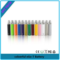 Wholesale Ce5 Vs Ego T - Top Quality colored ego-t Battery ego battery Electronic Cigarette E-cig Ego-T Battery match CE4 CE5 clearomizer CE6 vs vision 1 battery-03
