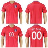Wholesale Shirt Y - South Korea Soccer Jersey 2017 2018 National Team 11 H M Son 16 S Y Ki Football Shirt Uniform Kits Foot Tshirt Make Customized Top Quality