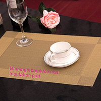 Wholesale Resistance Wear - Environmentally Friendly Materials No Smell Does Not Fade Wear   Heat Resistance is Good Kitchen Dining Bar Table Mats  Mats & Pads