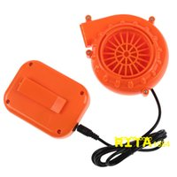 Wholesale mascot accessories halloween - Mini Fan Blower for Mascot Head Inflatable Costume V Powered by Dry Battery