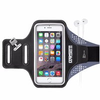 Wholesale Wallet Key Clip - Phone Cases,MARSEE Sports Phone Case Key Holder Slot Earphone Connection Gym Sports Fitness Running Workout for iPhone 6 6s 7