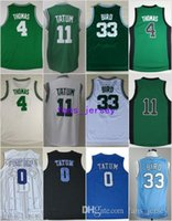 18dc7e225 Basketball Men Sleeveless 2017 New Cheap Basketball  11 Jayson Tatum Jerseys  Green White  4