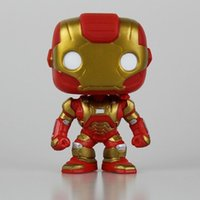 Nouveau Original POP Marvel Avengers 2 Alltronic ère IRON MAN MARK pvc action figure Vinyle Poupée De Voiture Décoration en stock juguet anime jouets