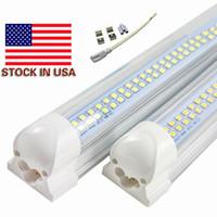 Wholesale led lights shops for sale - Group buy Stock In US ft ft t8 led tube W W W Integrated mm mm led light bulb led shop light