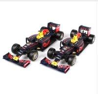 Wholesale Formula Car Model - Maisto Bburago 1:43 2016 F1 Formula 1 Bull Racing TAG Henuer RB12 No.33 Max Verstappen Cars Diecast Metal Car Model Toy Gift