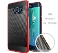 Wholesale S4 Carbon Cover - SGP Carbon Twill Bumblebee Hybrid Slim Armor Neo Case back Cover For Samsung Galaxy S4 S5 S6 S7 edge Plus Note 3 4 5 7 edge Alpha G850