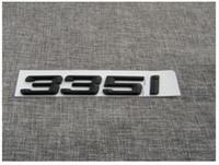 """Wholesale Bmw Letters - Black """" 335 i """" Number Trunk Letters Emblem Badge Sticker for BMW 3 Series 335i"""
