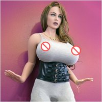 Wholesale Life Size Sex Butt - Newest hot sales 170cm adult sex love doll huge breast big butts tpe silicone love doll for men real