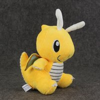 Atacado New Dragonite Poke Bolso Monstro Boneca De Pelúcia De Pelúcia Toy Pikachu Animais Para Presentes Do Bebê (100pcs / Lot / Size: 6.3