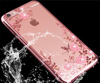 Wholesale Secret Case Iphone - 2017 New Secret Garden TPU Phone Cases Diamand Waterproof Case for iphone7 Plus iphone6 Samsung S7 Edge S6 C7 Note5 S8 Plus