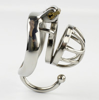 Wholesale Male Chastity Hook - New Arrival Super Small Male Chastity Device Sex Toys For Men Chastity Belt Cock Cage With Testicular Separated Hook