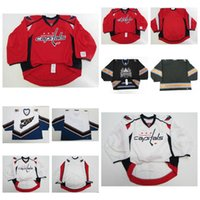 Wholesale Capital Names - Personalized Washington Capitals Canucks Goalit Cut Size Top quality All Stitched Jersey Customize Any Name Any NO.Ice Winter Hockey Jerseys