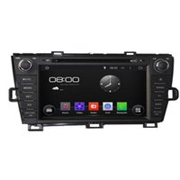 Wholesale Touchscreen Radios For Cars - Pure Android 4.4.4 8inch Capacitive Touchscreen Car DVD Player For Toyota Prius 2009-2013 Left Driving