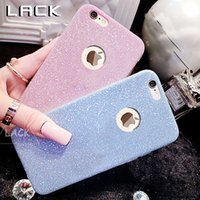 Wholesale Gel Lack - LACK Bling Shining Phone Case For iphone 7 Case Slim Crystal Soft Gel TPU Cases Fashion Glitter Cover For iphone 6 6S Plus 5 5S