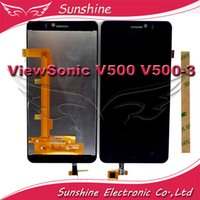 Wholesale Viewsonic Screen - Wholesale- Tested LCD For ViewSonic V500 V500-3 Coship F2 LCD Display Screen Touch Digitizer Panel Assembly