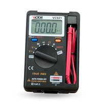 Mini multímetro digital personal VICTOR DMM Integrado Pocket Capacitance Resistencia Frecuencia Tester DC AC Voltage Meter