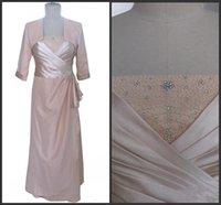 sütun mütevazı gelinlik toptan satış-Gerçek Görüntü Ceket ile Gelin Elbiseler annesi Boncuk Kristaller Dantelli Kılıf Sütun anneler Örgün Törenlerinde Mütevazı Düğün Konuk Elbise 441