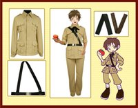 Wholesale Play Spanish Games - APH black tower leah Spanish uniforms uniform cosplay costume role playing