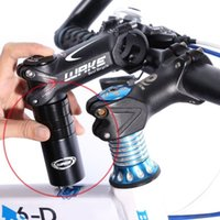 Wholesale Mtb Stem Riser - WAKE MTB Bicycle Durable Handlebar Fork Stem Adapter Rise Up Extender Bike Handlebar Fork Stem Riser Rise Up Extender Extension Heads Up +B