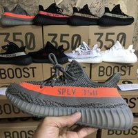 Wholesale Round Peach - 2017 new Best Quality Boost 350 Boost V2 Beluga Sply-350 Cheap Black White Black Peach Men Women Running Shoes Kanye West Boost 350