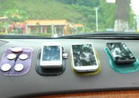 20pcs / lot Anti-Slip Car Dashboard Sticky Pad Non-Slip Mat GPS Mobile Phone Holder 6 Color Mix order