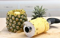 Wholesale pineapple knives for sale - Group buy Stainless Steel Pineapple Peeler for Kitchen Accessories Pineapple Slicers Fruit Knife Cutter Kitchen Tools and Cooking
