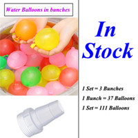 Wholesale Water Balloon Magic Instant Water Balloons Automatic Tie Water Filled Balloons Multicolor Bunches Set Bunch Set