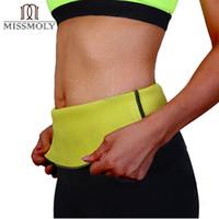 Wholesale Neoprene Slimming Shorts - Wholesale- Miss Moly Super hot shapers control Underbust shorts women stretch neoprene shirt sweat slimming body Waist Trainer shaper S-3XL