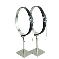 Wholesale Stainless Steel Belt Holder Stand Belt Display Rack Belts Rack Stand Belts Display Hanger for Store
