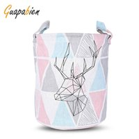 blue clothes hamper - New Simple Design Laundry Hamper Bag cm Clothes Storage Baskets Home Clothes Barrel Bags Kids Toy Storage Laundry Basket B
