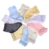 Wholesale Mesh Lace Wholesale Baby - baby boy 0-12 months socks cotton spring autumn hollow plain lace mesh breathable children socks solid color 1-3T 3-5T 5-8Twholesale