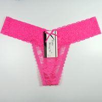 Wholesale T Back Underwear For Women - Free Shipping Yun Meng Ni Sexy Underwear Low Waist Bikini T-back G-string Lace Thongs For Women