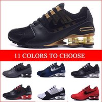 Wholesale Wholsale Lights - 2017 wholsale TOP quality shox r4 men women leather running shoes shox outdoor walking sneakers NZ Trainers Sneakers Shoes