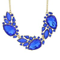 Wholesale Necklace Female Collar - Necklaces Female Jewelry New Coming Fashion Rhinestone Necklace Graceful Alloy Collars Femininos For Women