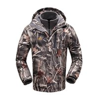 Wholesale Men Outdoor Hunting Camping Waterproof - Fashion Realtree Camofluage Army Military Jacket Men Outdoor Camping Hiking Tactical Jacket Waterproof Trekking Hunting Jacket