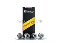 Wholesale Head Stock - In Stock Uwell Crown 3 Replacement Coils (4pcs pack) SUS316 0.25ohm(80-90W) 0.25ohm 0.5ohm Parallel Coils Head For Crown III Sub ohm Tank