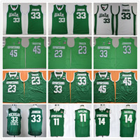 Wholesale Magic Men - Michigan State Spartans College Basketball Jersey 45 Denzel Valentine 33 Earvin Magic Johnson 23 Draymond Green 14 Harris 11 Keith Appling