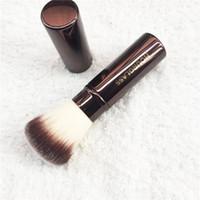 Wholesale Retractable Foundation Brush - HOURGLASS Retractable Foundation Travel Brush - Super Soft Powder Brush -Original Quality- Beauty Cosmetic makeup brushes Blender