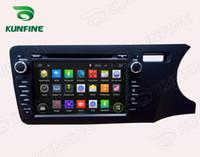 Wholesale Multimedia Car Honda - Octa Core 2GB RAM Android 6.0 Car DVD GPS Navigation Multimedia Player Car Stereo for Honda City 2014 Right Hand Driving Radio Headunit