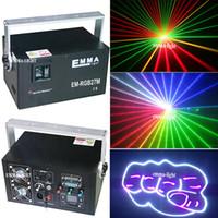 Wholesale Dj Laser Light System - 4W   4000mW RGB Full Color ILDA DJ Laser Show System Stage Lighting with 30k-40k