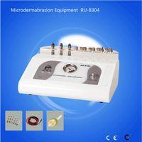 ingrosso home microdermabrasion macchine-RU8304 microdermoabrasione diamantata macchina con 9 punte macchina di bellezza uso domestico 3 in 1 diamante microdermoabrasione dermoabrasione macchina peeling
