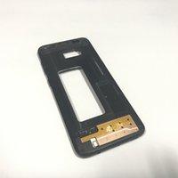 mitte rahmen gehäuse großhandel-Original New A +++ Nein Zerkratzt Mid Chassis LCD Mittelrahmen Kamera Glas Gehäuse Ersatz Für Samsung Galaxy S8 Plus G955 G955A G955F