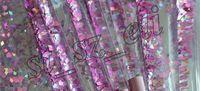 Wholesale Eyeshadow Crystal - 7pcs Mermaid Makeup Brush Set Quicksand Crystal Liquid Handle Cosmetics Brushes Powder Eyeshadow Foundation Make up Tool